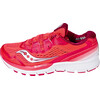 saucony Zealot Iso 3 Running Shoes Women Coral/Silver